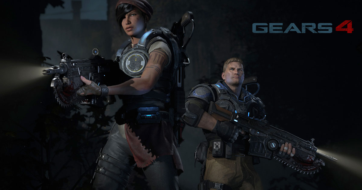 Gears of War 4 Characters Revealed